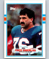 1989 Topps #50 Fred Smerlas Bills NFL Football