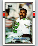 1989 Topps #114 Mike Quick Eagles NFL Football