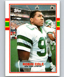 1989 Topps #231 Robin Cole NY Jets NFL Football