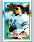 1989 Topps #385 Herschel Walker Cowboys NFL Football