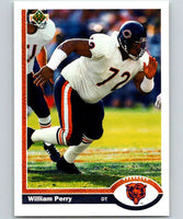 1991 Upper Deck #45 William Perry Bears NFL Football
