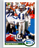 1991 Upper Deck #120 Eugene Robinson Seahawks NFL Football