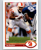 1991 Upper Deck #390 Ian Beckles Buccaneers NFL Football