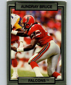 1990 Action Packed #1 Aundray Bruce Falcons NFL Football