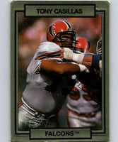 1990 Action Packed #3 Tony Casillas Falcons NFL Football