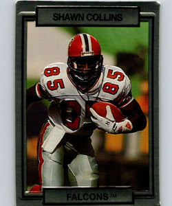 1990 Action Packed #4 Shawn Collins Falcons NFL Football