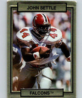 1990 Action Packed #10 John Settle Falcons NFL Football