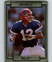 1990 Action Packed #14 Jim Kelly Bills NFL Football