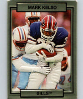 1990 Action Packed #15 Mark Kelso Bills NFL Football