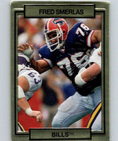1990 Action Packed #18 Fred Smerlas Bills NFL Football