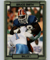 1990 Action Packed #19 Bruce Smith Bills NFL Football