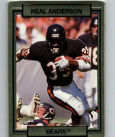 1990 Action Packed #21 Neal Anderson Bears NFL Football
