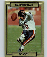 1990 Action Packed #22 Kevin Butler Bears NFL Football