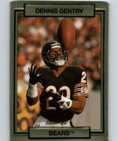 1990 Action Packed #24 Dennis Gentry Bears NFL Football