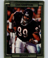 1990 Action Packed #25 Dan Hampton Bears NFL Football