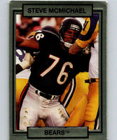 1990 Action Packed #27 Steve McMichael Bears NFL Football