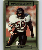 1990 Action Packed #29 Mike Singletary Bears NFL Football
