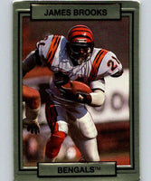 1990 Action Packed #31 James Brooks Bengals NFL Football