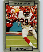 1990 Action Packed #32 Rickey Dixon RC Rookie Bengals NFL Football