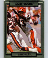 1990 Action Packed #34 David Fulcher Bengals NFL Football