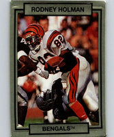 1990 Action Packed #35 Rodney Holman Bengals NFL Football