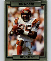 1990 Action Packed #37 Tim McGee Bengals NFL Football