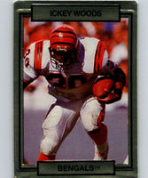 1990 Action Packed #40 Ickey Woods Bengals NFL Football