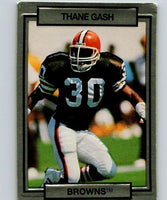 1990 Action Packed #41 Thane Gash RC Rookie Browns NFL Football