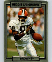 1990 Action Packed #44 Reggie Langhorne Browns NFL Football