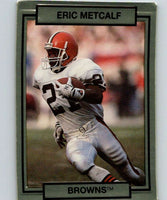 1990 Action Packed #46 Eric Metcalf Browns NFL Football