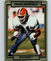 1990 Action Packed #47 Frank Minnifield Browns NFL Football