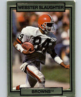 1990 Action Packed #49 Webster Slaughter Browns NFL Football