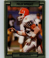 1990 Action Packed #50 Felix Wright Browns NFL Football