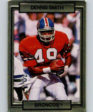 1990 Action Packed #69 Dennis Smith Broncos NFL Football
