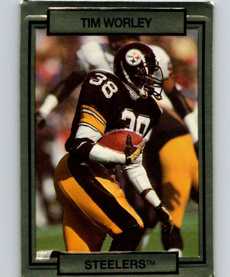 1990 Action Packed #230 Tim Worley Steelers NFL Football