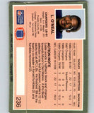 1990 Action Packed #236 Leslie O'Neal Chargers NFL Football