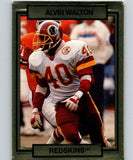 1990 Action Packed #280 Alvin Walton Redskins NFL Football