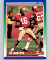 1990 Score #1 Joe Montana 49ers NFL Football