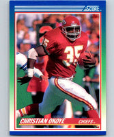 1990 Score #2 Christian Okoye Chiefs NFL Football