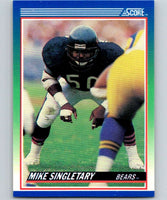 1990 Score #3 Mike Singletary Bears NFL Football