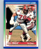1990 Score #7 Bill Fralic Falcons NFL Football