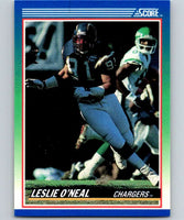 1990 Score #8 Leslie O'Neal Chargers NFL Football
