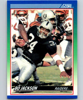 1990 Score #10 Bo Jackson LA Raiders NFL Football