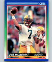 1990 Score #15 Don Majkowski Packers NFL Football