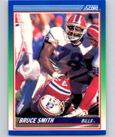 1990 Score #16 Bruce Smith Bills NFL Football