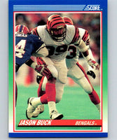 1990 Score #18 Jason Buck Bengals NFL Football