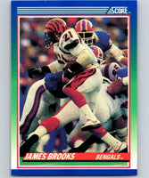 1990 Score #19 James Brooks Bengals NFL Football