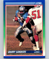 1990 Score #20 Barry Sanders Lions NFL Football