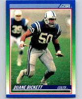 1990 Score #23 Duane Bickett Colts NFL Football