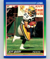 1990 Score #26 Jeff Query Packers NFL Football